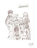 Vocaloid Family by Cilibi