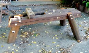 Wooden Work Bench by ianmcleod9
