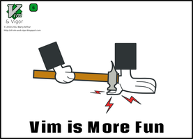 Vim and Vigor 6 - Vim is More Fun 2 by bairuidahu
