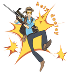 TF2. HOLY DOOLEY by midwaymilly