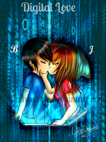 You are my digital love by LittleChewrrie