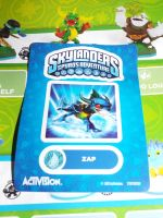 (Skylanders) Zap Sticker Sheet by KrazyKari
