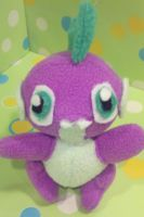 Handmade Spike Plush by SowCrazy