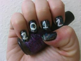 New years Nails 2 by MissDaniLips
