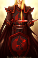 .:Blood Knight:. by direndria