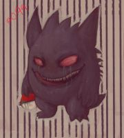 Gengar by Mourphine