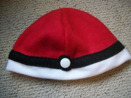 Pokeball Hat Ver. 2 no lace by Jacqueline-Victoria