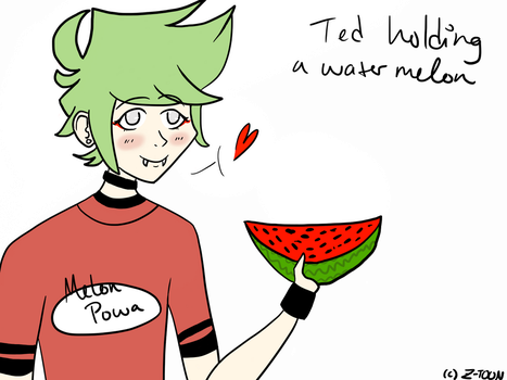 Ted n Watermelon by FantasticCheese