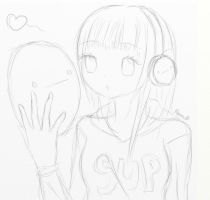 Cryuusa Sketch [before] by usalienpotter