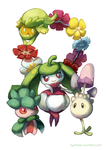 Alolan flowers and occasional fungi by Tymkiev