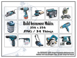 Build Instruments Makita by conzumir