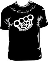 brass knuckles shirt by UndergroundTattoos