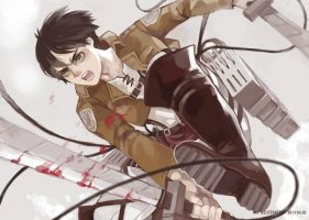 Attack on titan by mmm-y
