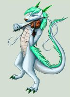 Edvin the eastern dragon by Phoeline
