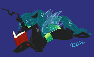 Chrysalis reading by KeroseneCanine