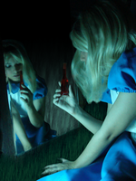 Drink Me, Alice by ToysAndChocolate