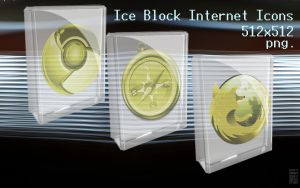 Ice Block Icons by centpushups