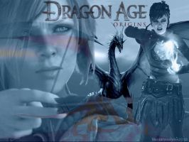 Dragon Age: Origins Wallpaper by Striped-Stocking