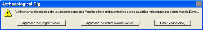 Error Message Archaelogical Dig by UnknownShapeshifter