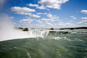 Blue Skies at Niagara by finkycake