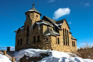 St. Malo Church, Rocky Mountains.... by lil-Mickey