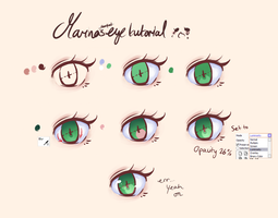 Marina's Eye Tutorial OTL by acsuu