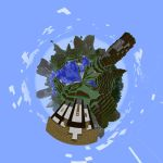 Minecraft Planet by RyoleD
