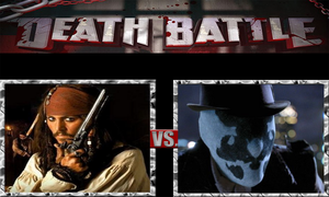 Jack Sparrow vs. Rorschach by ScarecrowsMainFan