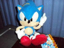 Another Sonic Plushie by DazzyDrawingN2