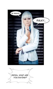 Noblesse Cosplay-Seira J.Loyard He seems...(1) by Alex-Willow