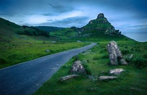 Valley of the Rocks by erynlasgalenphotoart