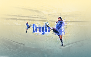 Didier Drogba Wallpaper by basboy4