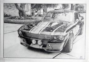 Ford Mustang by DreamDrawing