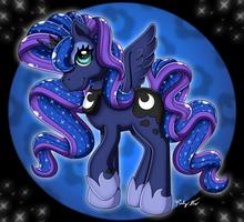 MLP Princess Luna Old Style by drinkyourvegetable