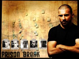 Lincoln Burrows - Prison Break by XxPaNiCxX