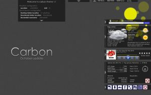 Carbon theme :October update: by UltimateRT
