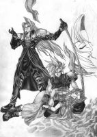 Aerith's death by ancient-eidolons