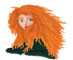Merida - Brave by GiuliaIulia