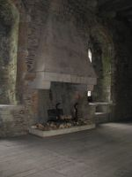 Places 265 fireplace by Dreamcatcher-stock