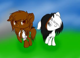 Guinea Pig Duo by ViolinePlayingPuppet