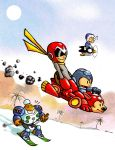 Mega Man Winter by ninjaink