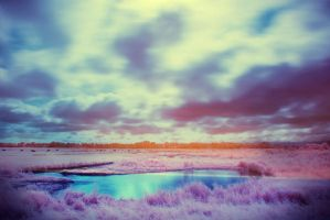 Infrared paradise. by Annarigby
