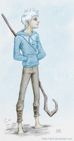 Jack Frost - Rise of the Guardians by JenL