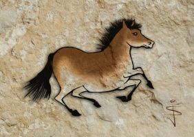 FIN-Cave-Horse-02 by NorthumbrianArtist