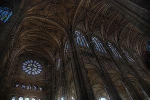Inside St. Eustache by Shluh