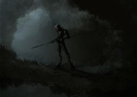 Early bot Speed paint by Thomas-Baker