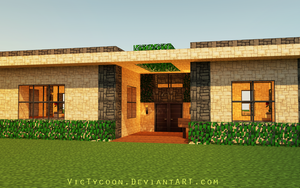 Minecraft Construction #3 by VicTycoon
