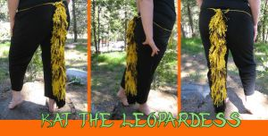 Yarn Tail: Kat the Leopardess by Catwoman69y2k