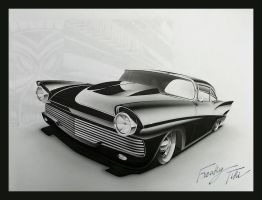 Custom 57 Fairlane by PinstripeChris