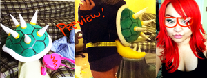 WIP bowser cosplay by LovelyDagger